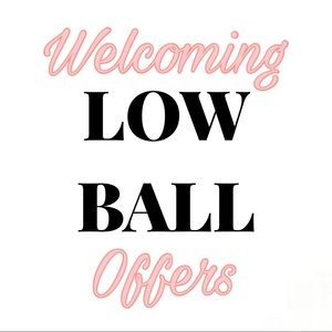 LOW BALL SALE!!